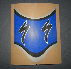 1 NOS AUTHENTIC SPECIALIZED BIKES BLUE FRAME DECAL #2 / STICKER