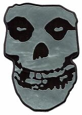 MISFITS chrome skull HUGE BACK PATCH crimson ghost, iron-on or sew, p2812chx the