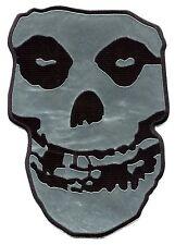Misfits Chrom Skull riesige Back Patch Crimson Ghost, zum aufbügeln oder aufnähen, p2812chx