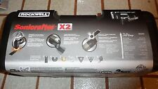 Rockwell Sonicrafter X2 3.0 Amp Oscillating Tool Universal Fit System Hyperlock
