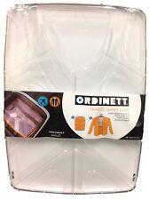 Camisa De Plástico Duro Estuche De Viaje. Caja de almacenamiento de Camisa contenedor hecho en Italia