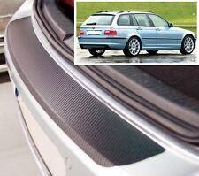 BMW 3 séries Touring E46 - Carbon Style rear Bumper Protector