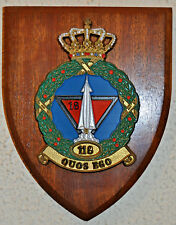 RNLAF 118 geleide wapen Sq Klu plaque shield Royal Netherlands Air Force Vörden
