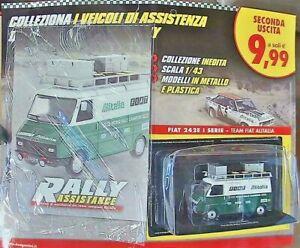 FIAT 242E 1^SERIE -TEAM FIAT ALITALIA N.2 VEICOLI DI ASSISTENZA RALLY ASSISTANCE