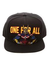 ANIME MY HERO ACADEMIA - ONE FOR ALL - ALL MIGHT BLACK SNAPBACK CAP (OFFICIAL)