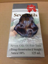 Original 100% Natural Seven Oils Oil Hair Tonic 125ml (with almond and jojoba)