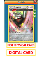 Excadrill Omega Barrage for Pokemon TCG Online (PTCGO Digital Card) Virtual Card