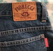 Fiorucci Bootleg Jeans Size 8 Pre Owned Vintage