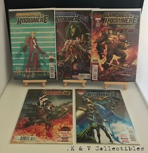 Marvels Guardians Of Knowhere Issues 1-4 (Full Run, 2015) BAGGED & BOARDED