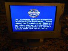 "EUC PANASONIC WIDESCREEN LCD 15"" COLOR FLAT SCREEN W/ BUILT IN DVD PLAYER COMBO"