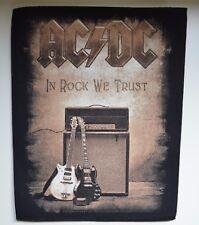 AC/DC - In Rock We Trust - Backpatch - 30 cm x 36,3 cm - 164662