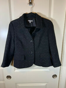 *VTG* 90's Beautiful Anne Taylor Wool Blazer Jacket - 6 P- Exceptional Quality