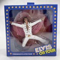 "NECA Elvis Presley On Tour Live 1972 Commemorative 7"" Action Figure MIB"