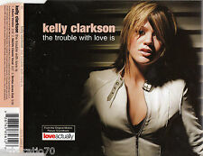 KELLY CLARKSON  The Trouble With Love Is CD Single