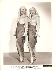 """BETTY GRABLE & JUNE HAVER """"The Dolly Sisters"""" Orig.1944"""