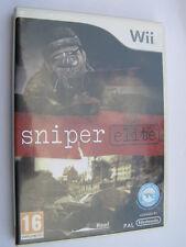 jeu nintendo wii sniper elite