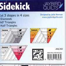 Sidekick Ruler - easy to use to make diamonds, triangles, and half triangles