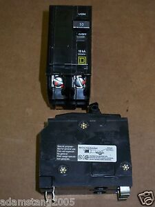 Square D QO 2 pole 10 amp 120/240v QO2105273 Circuit Breaker QO210 TERMINAL