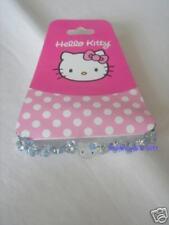 Sanrio Hello Kitty Elastic Bracelet Blue Beads 3D Heads