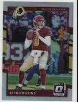 2017 Donruss Optic Football Holo Parallel #58 Kirk Cousins Redskins