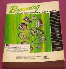 Browning Power Transmission Equipment Catalog