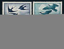Echte Briefmarken (1950-1959) mit Vögel österreichische