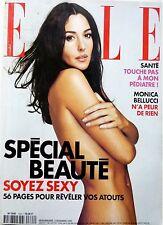 ELLE 11/2000 spécial BEAUTE=> MONICA BELLUCCI_SAMUEL L.JACKSON_EMINEM_G ARMANI