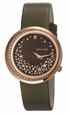 PIERRE CARDIN L'ETOILE FEMME PC106452S05 COLLECTION WATCH WITH CRYSTAL.BRAND NEW