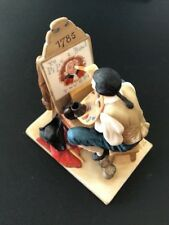 "Norman Rockwell figurine Gorham ""Old Sign Painter"""
