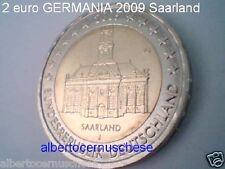 2 euro 2009 Germania Saarland Allemagne Alemania Germany Deutschland Alemanha