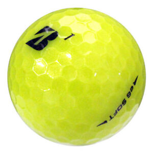 12 Bridgestone e6 Soft Yellow Near Mint Used Golf Balls AAAA