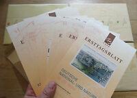 Bund ETB 1998 Ersttagsblätter kompletter Jahrgang BRD Original verpackt OVP NEU