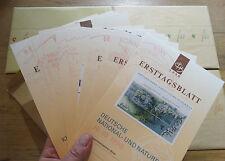 Bund ETB 1998 Ersttagsblätter Original verpackter OVP kompletter Jahrgang BRD