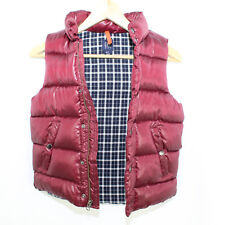 GAP KIDS Burgundy Puffer Vest - Small (6-7)