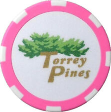 TORREY PINES Logo (PINK) POKER CHIP Ball Mark
