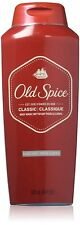 Old Spice Men's Body Wash Classic Scent Dirt & Odor Relief 18 fl oz (Pack of 2)