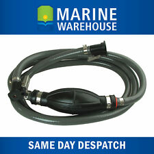 Fuel Line for OMC ( EVINRUDE & JOHNSON ) Assembly W/ Primer Bulb & Connectors