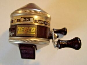 Zebco 33 Rhino Tough Spincasting Reel Made in U.S.Works Great Free Shipping!
