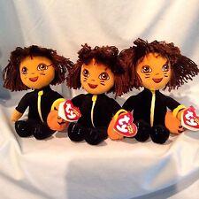 Ty Dora the Explorer Beanie Babies Lot/3 Halloween Catsuit 2007 3+ $12.00