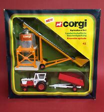 1978-79 Corgi David Brown Tractor Silo Agricultural Set No42 ExIB