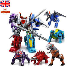 Power Rangers Transformers Toy Dinosaur Robots ABS Kids Action Figure Play Set