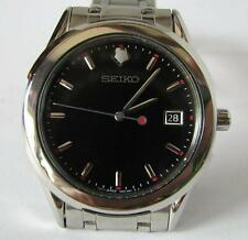Seiko 7N42 Quartz Date Watch with Seiko Stainless Steel Bracelet
