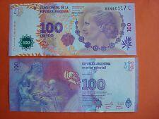 Argentina, 100 Pesos 2015, Pick 358b,   UNC Banknote