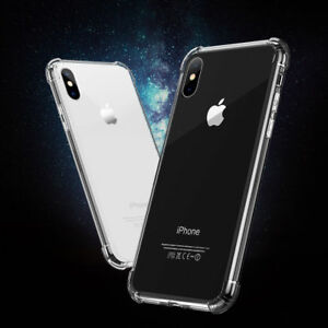 360° CLEAR TPU Case Armar Shockproof Full Protector Cover For i phone XS