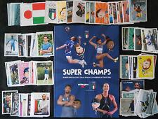 Esselunga, Super Champs: album vuoto e set completo di figurine, 1-180