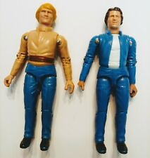 Vintage, Rare 1981 Mego Bo and Luke Dukes of Hazzard 3 3/4 Action Figures Lot