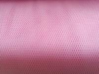 Tüll rosa Wabentüll 100 X 140 cm 100% Polyamid Dekoration Kostüme Schultüte