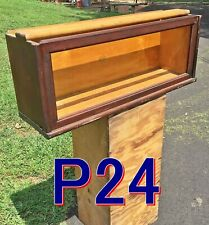 Antique Mahogany MACEY 811 Barrister Bookcase SECTION C Size globe wernicke *P24
