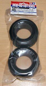 Tamiya 54185 Dual Block Tires/Tyres K (4WD/Front, 62/25) (DB01/DF03/TRF503), NIP