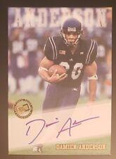 2002 Press Pass, Damien Anderson, Arizona Cardinals RC Rookie, Auto Autograph